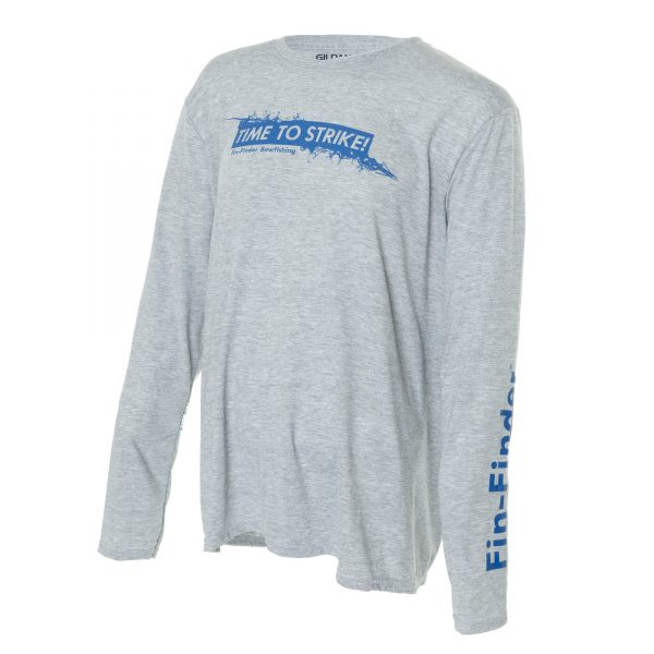 Fin-Finder Time to Strike Long Sleeve Performance Shirt