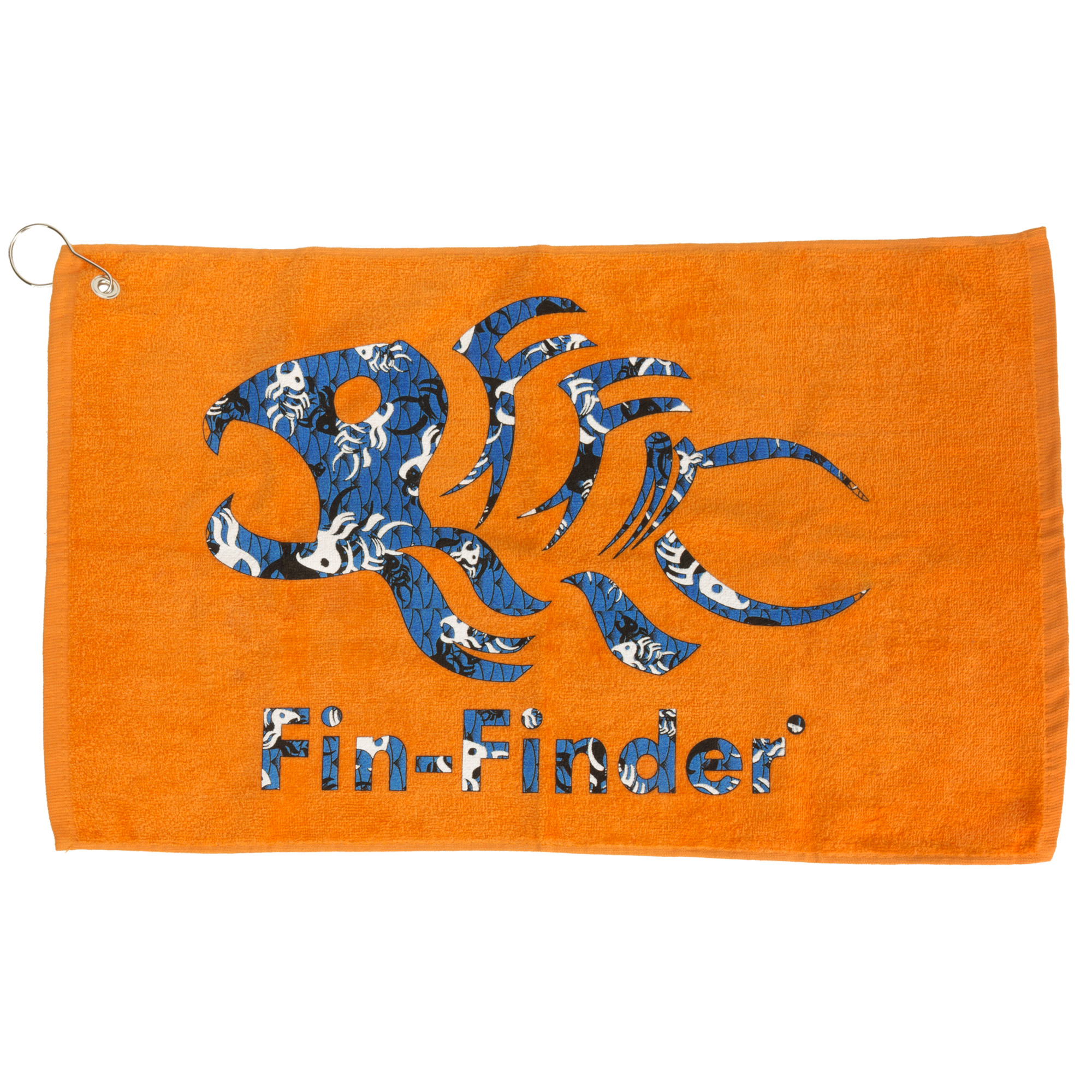 Fin-Finder Hand Towel
