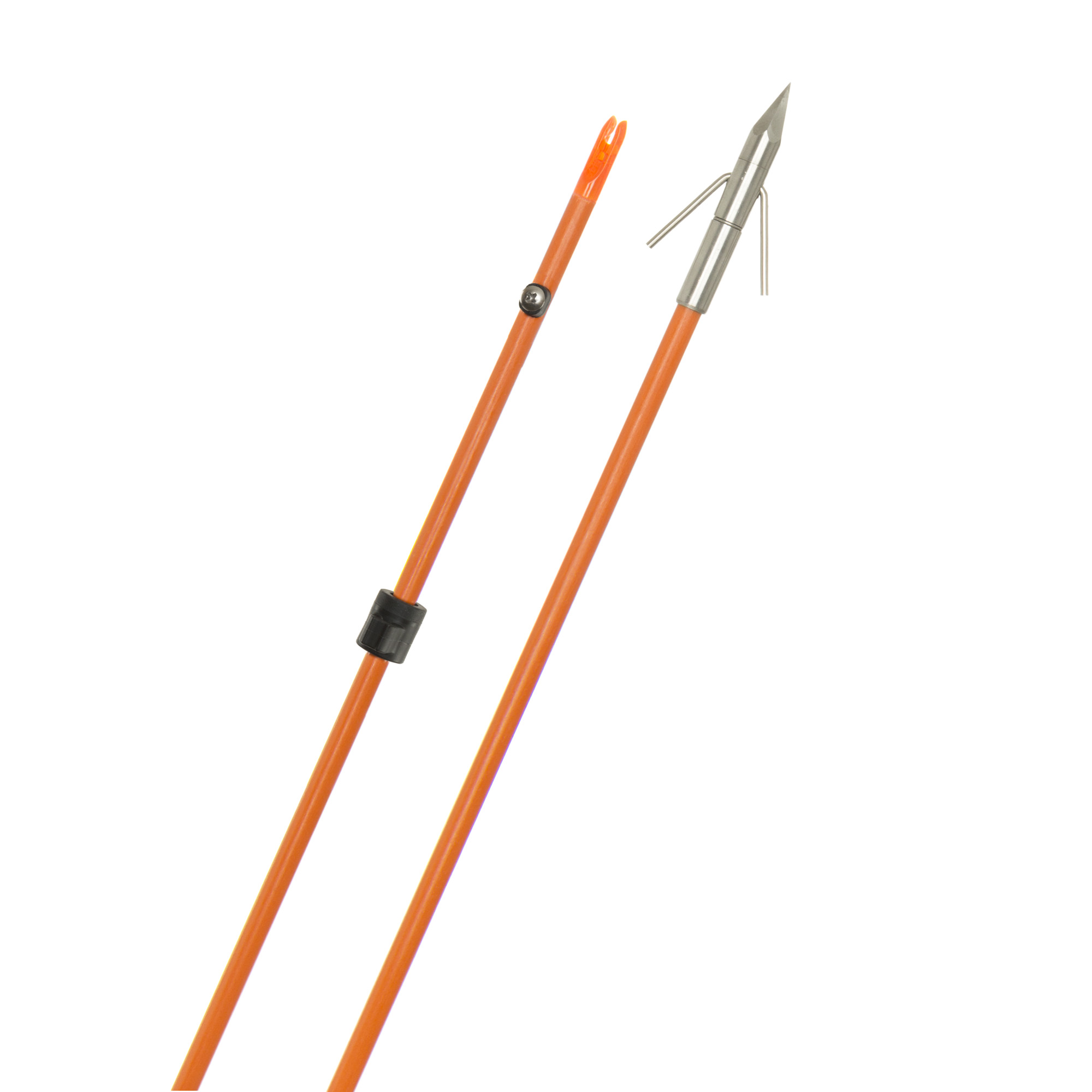 Raider Pro Arrow Orange w/Big Head Pro Point