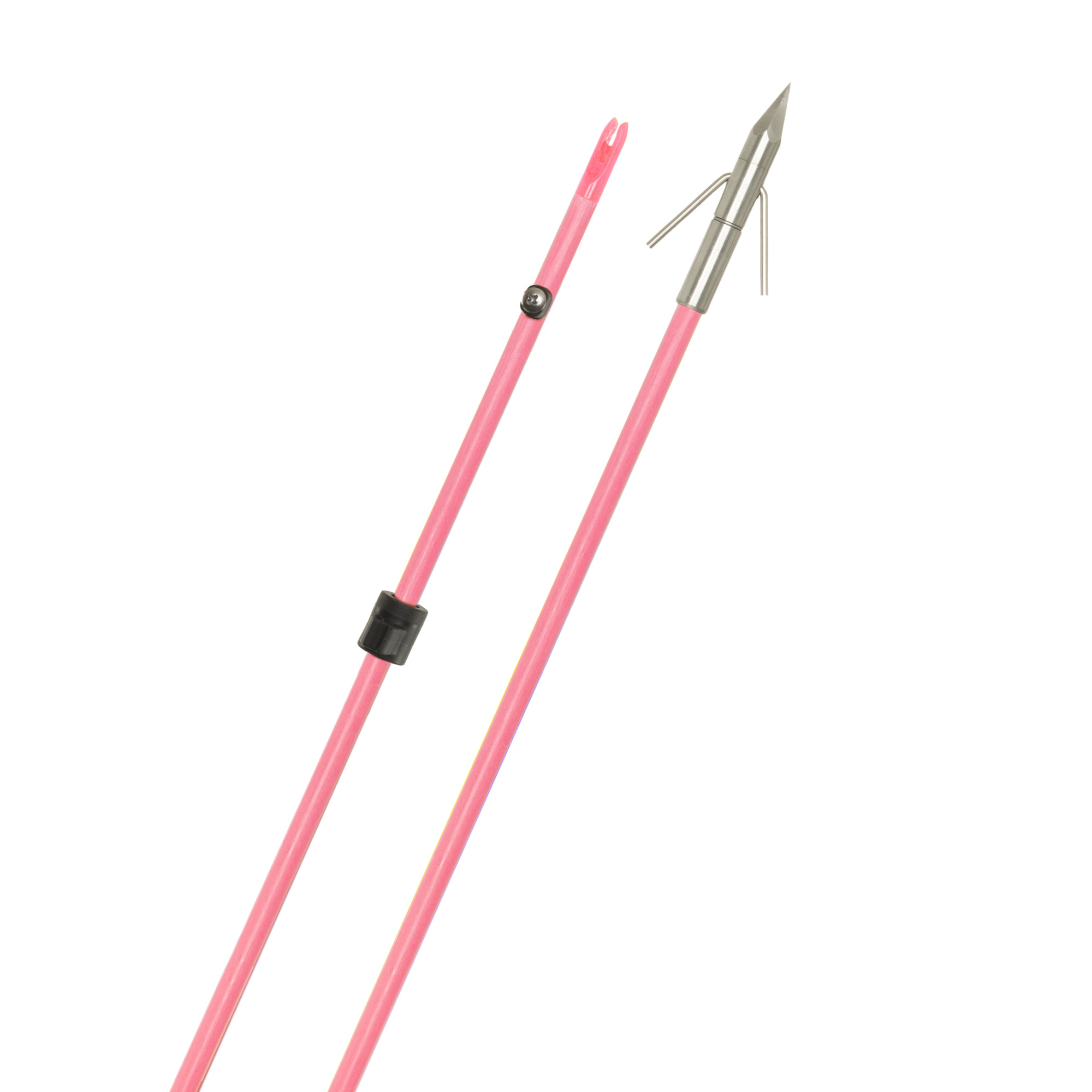 Raiderette Pro Arrow Pink w/Big Head Pro Point