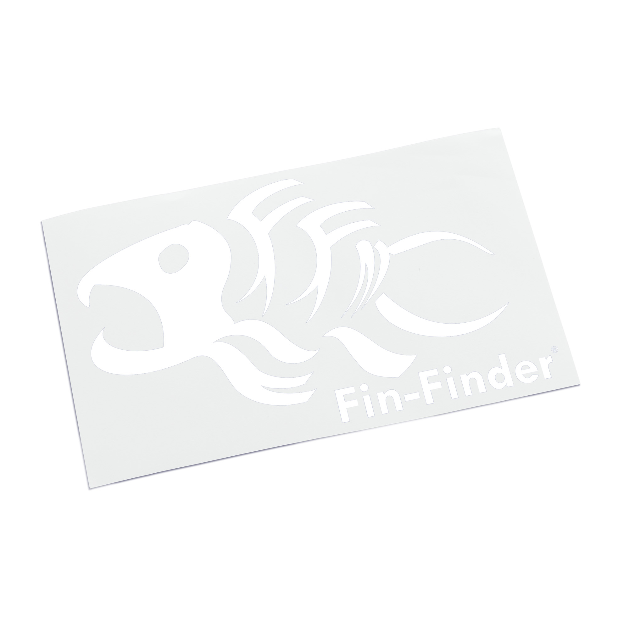 Fin-Finder Decal